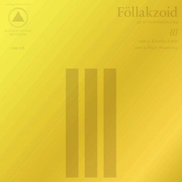 Föllakzoid - III - Drift Records