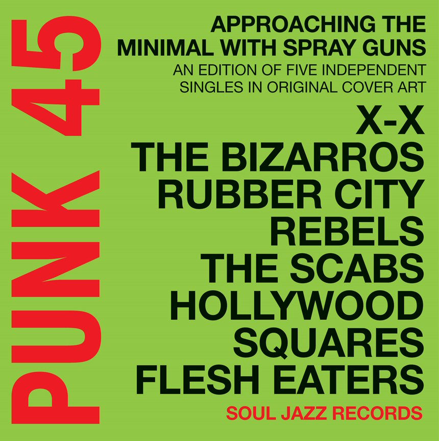 Various Artists - PUNK 45: Approaching The Minimal With A Spray Gun: An Edition Of Five Independent Singles In Original Cover Art