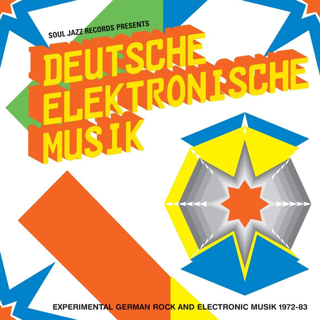 VA / Soul Jazz Records Presents - Deutsche Elektronische Musik: Experimental German Rock And Electronic Music 1972-83