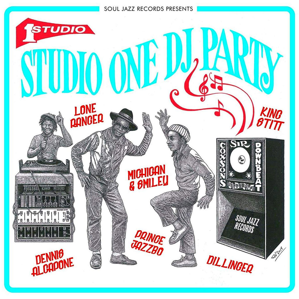 Various Artists - Soul Jazz Records presents Studio One DJ Party