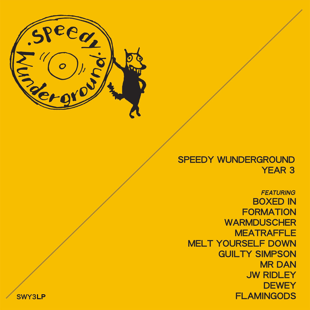Various Artists - Speedy Wunderground: Year 3