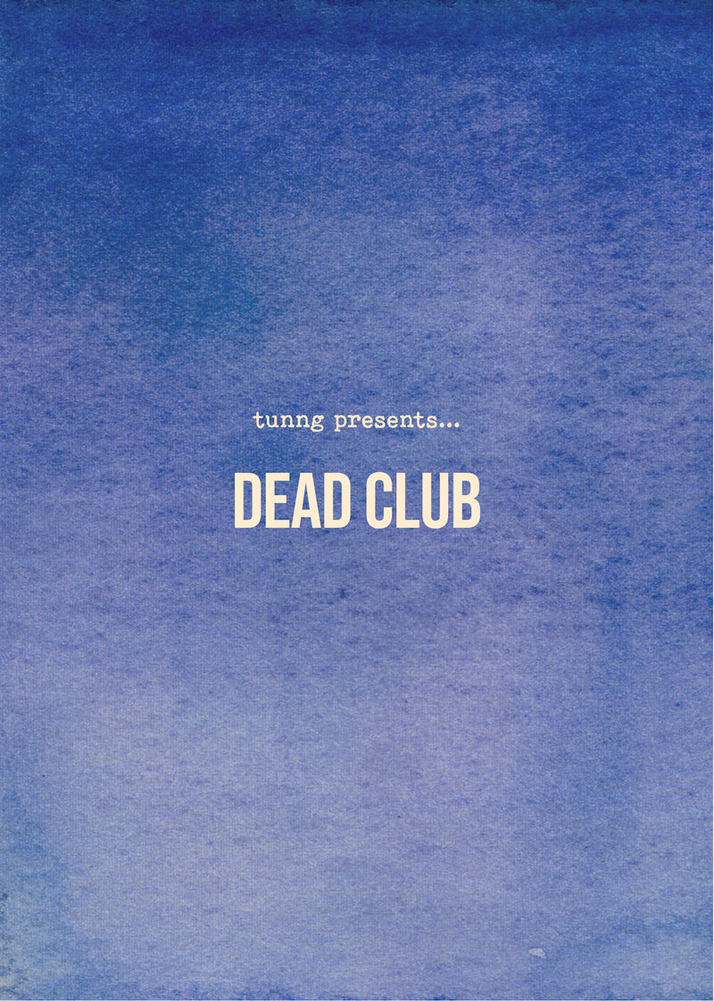Tunng - Dead Club [Zine]