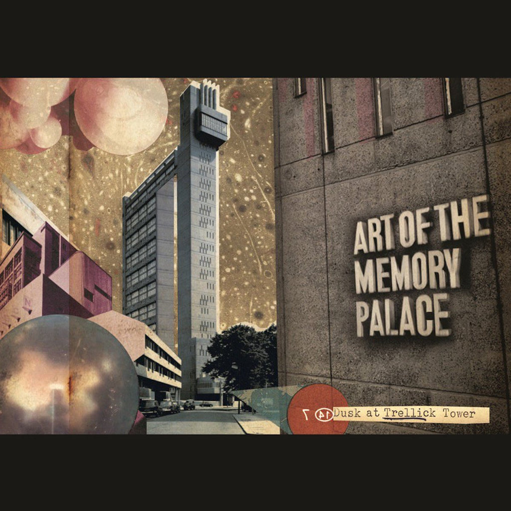 Art Of The Memory Palace - Dusk at Trellick Tower