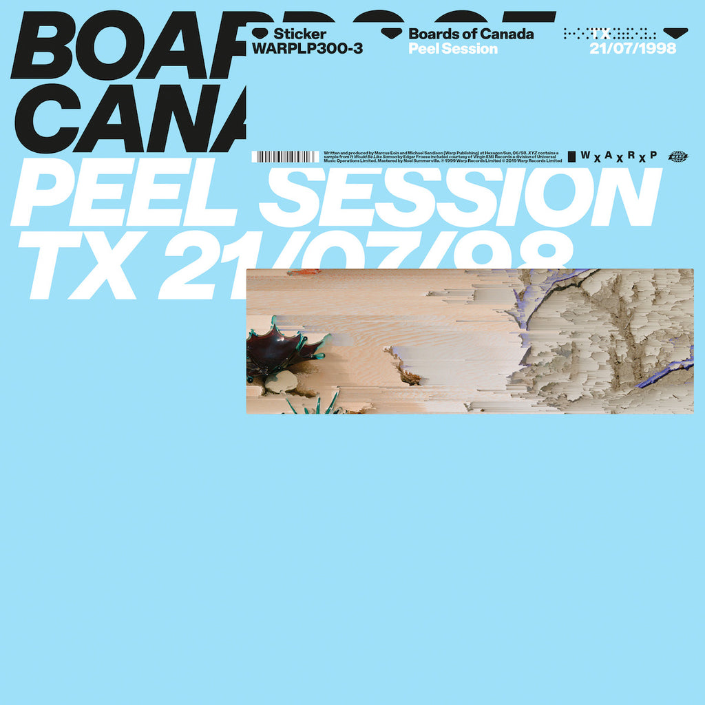 "Boards Of Canada - Peel Session [WxAxRxP 2019] [12"" EP]"