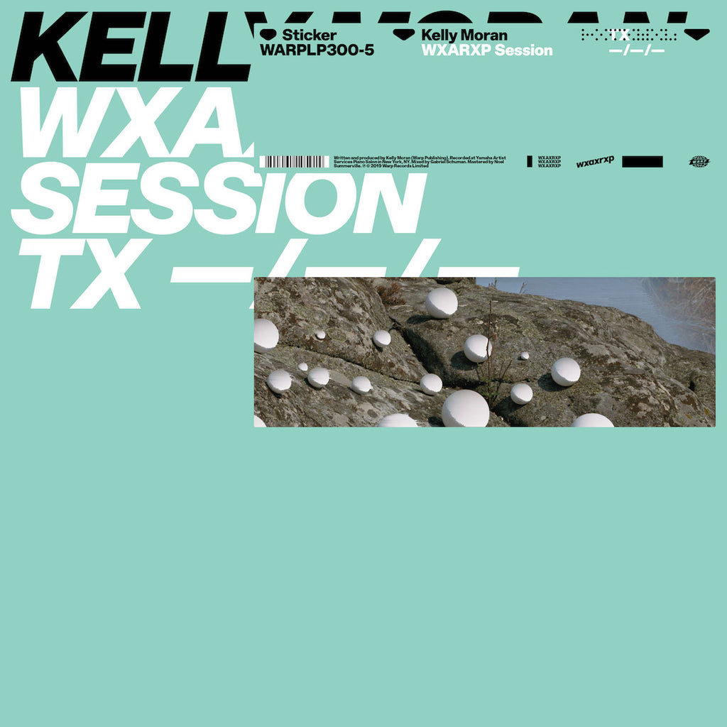 "Kelly Moran - WxAxRxP Session [WxAxRxP 2019] [12"" EP]"