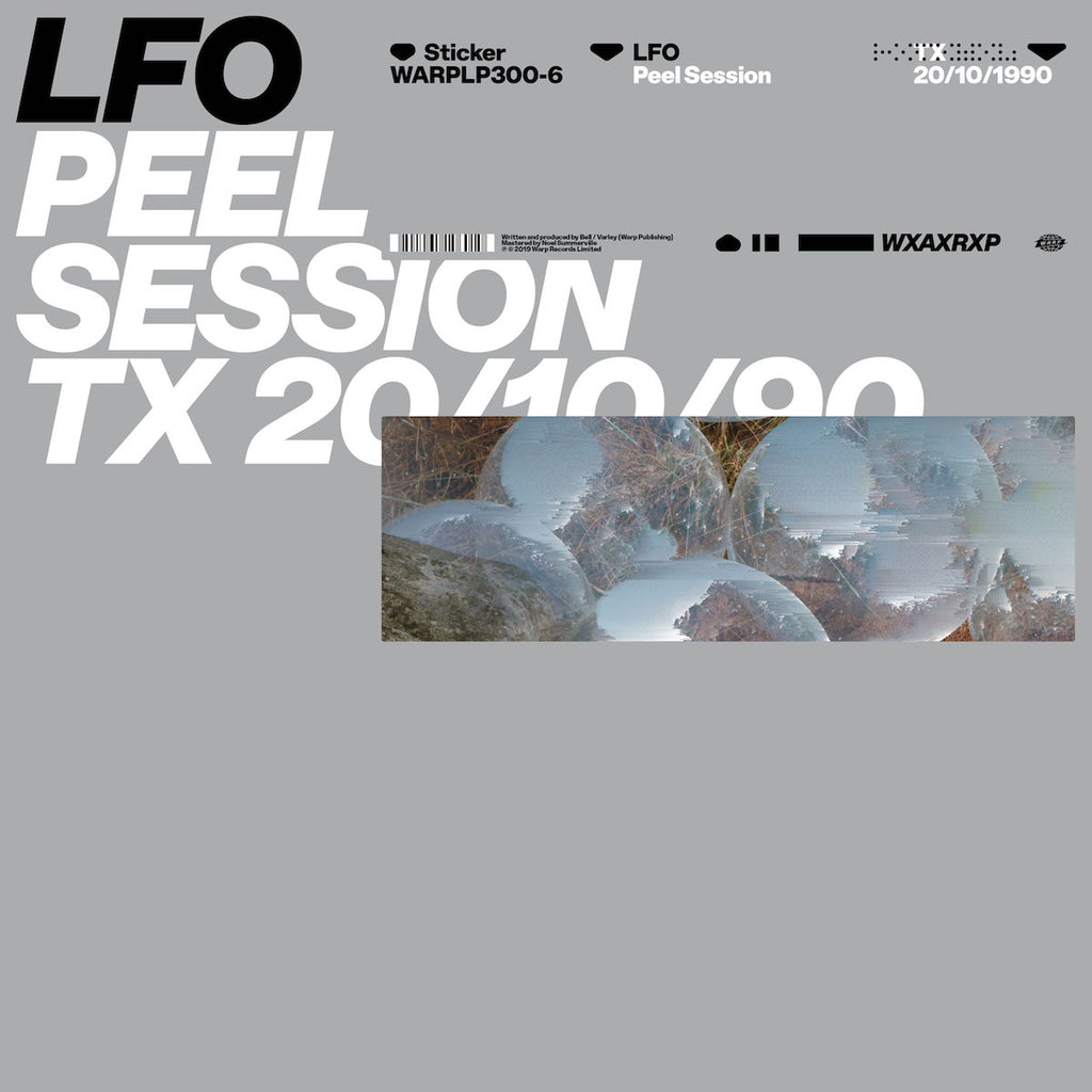 "LFO	- Peel Session [WxAxRxP 2019] [12"" EP]"