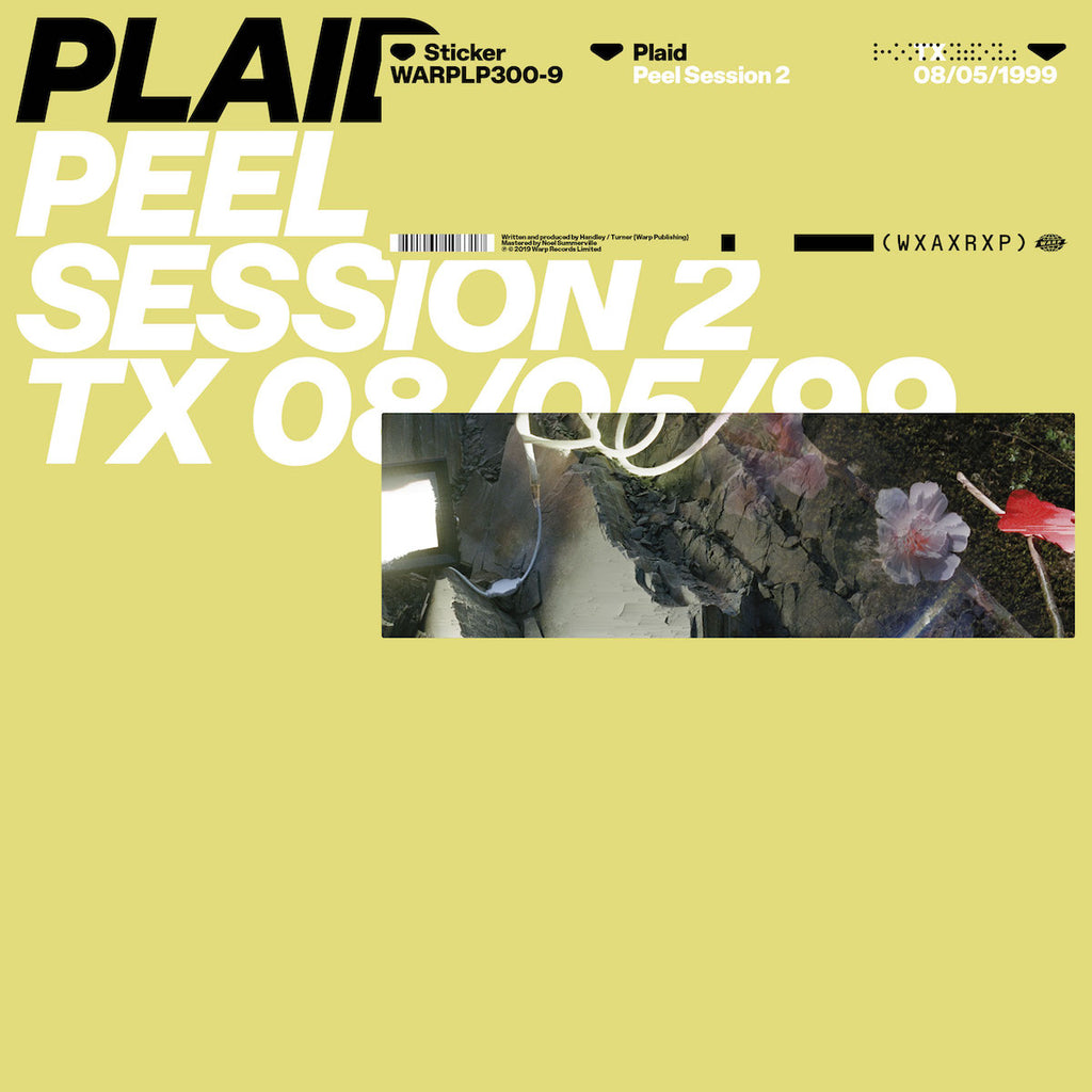 "Plaid - Peel Session 2 [WxAxRxP 2019] [12"" EP]"
