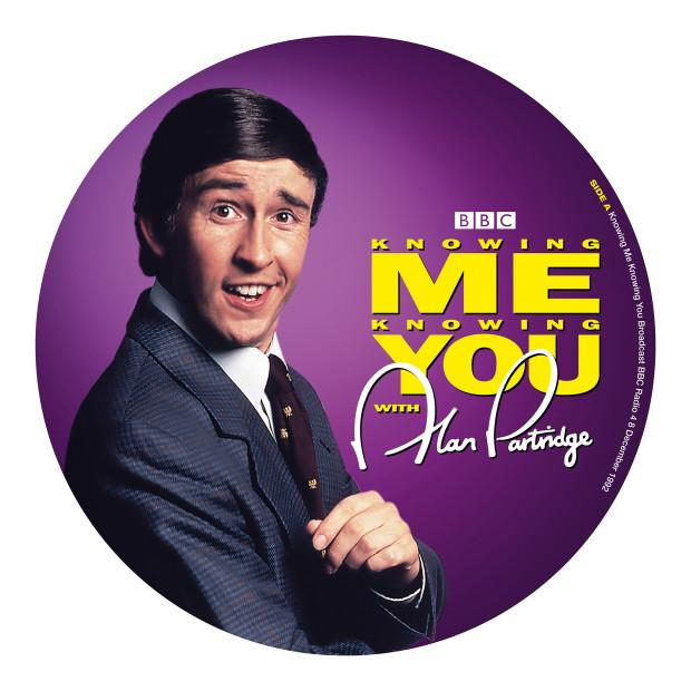 Alan Partridge - Knowing Me Knowing You - Drift Records