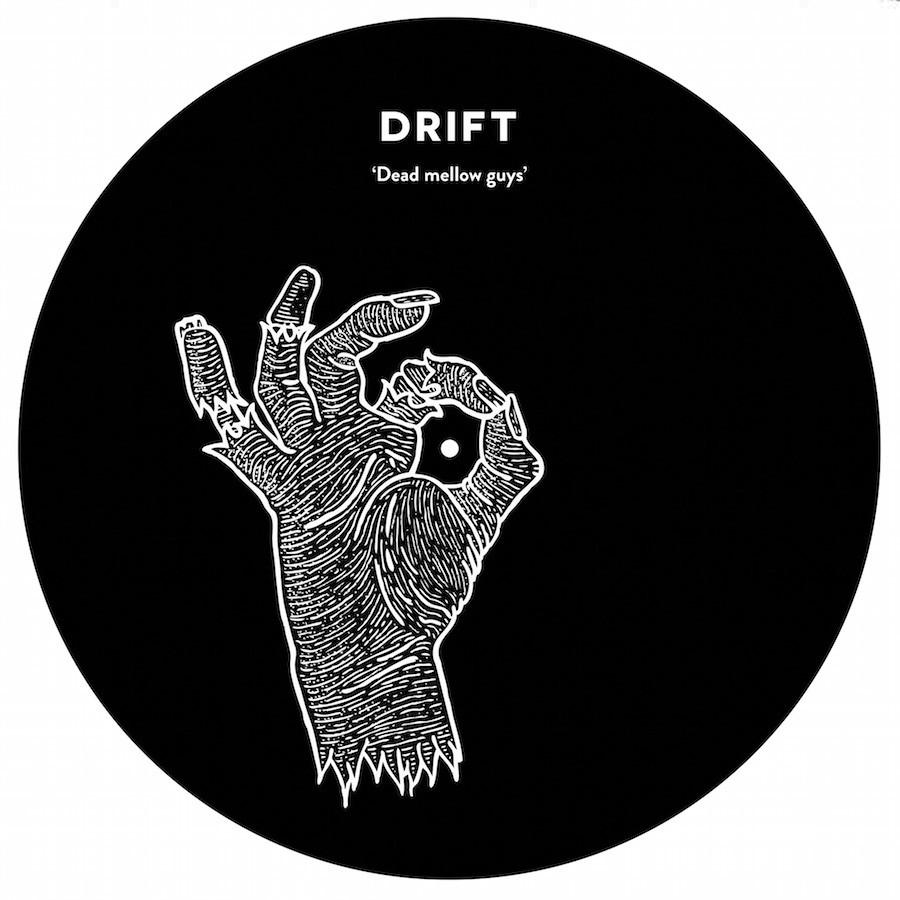 Drift 'Dead Nice Guys' slipmat - Drift Records