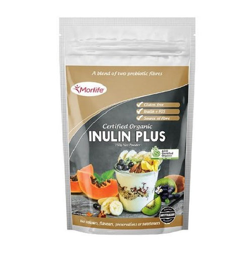 Certified Organic Inulin & FOS (Gut loving, fat burning super food) 150gm