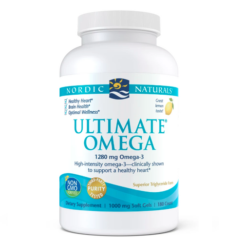 Ultimate Omega (High potency fish oil, the best fish oil WORLD WIDE) 60 capsules