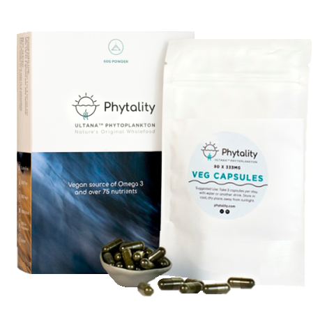 Ultana Phytoplankton (VEGAN SOURCE OF OMEGA 3 EPA)