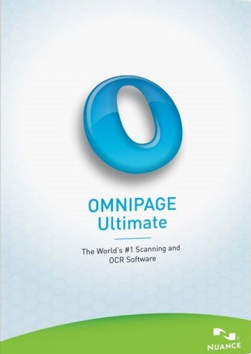 Nuance OmniPage Ultimate Windows