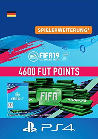 FIFA 19 Ultimate Team - 4600 FUT Points PS4 DE