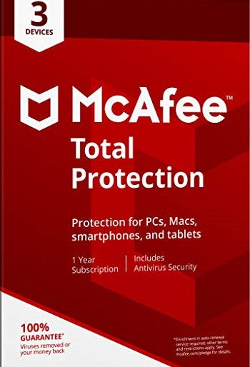 McAFEE Internet Security 2019 3 Devices 1 Year