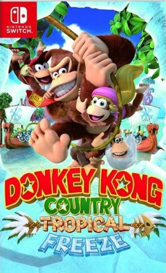 Nintendo Donkey Kong Country Tropical Freeze