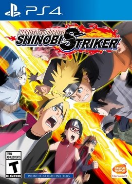 Playstation 4 Naruto Shinobi Striker