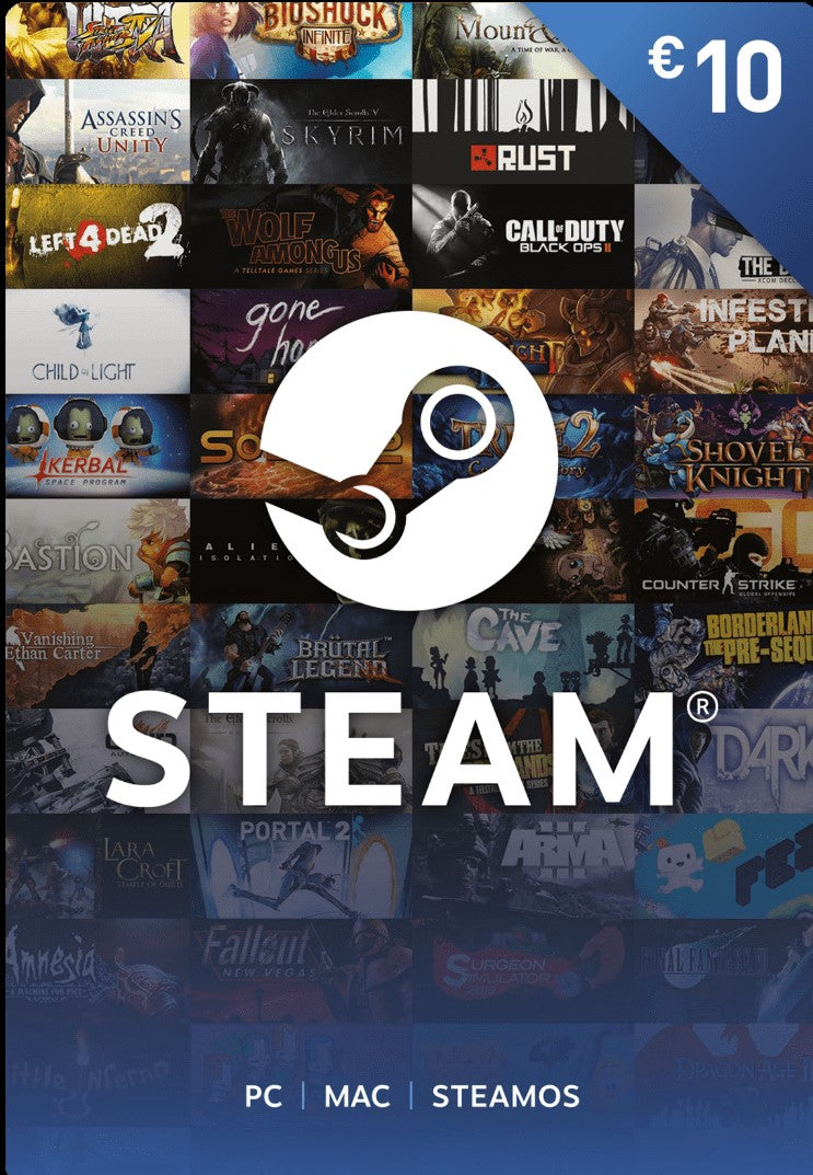 Steam Card - 10 Euro