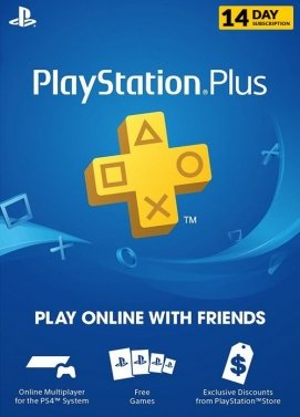 Playstation 4 Plus 14 Days