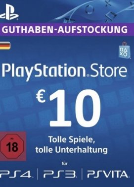 Playstation 4 - PSN 10 Euro