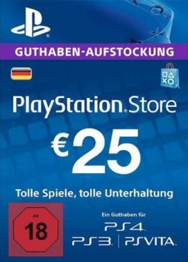 Playstation 4 - PSN 25 Euro