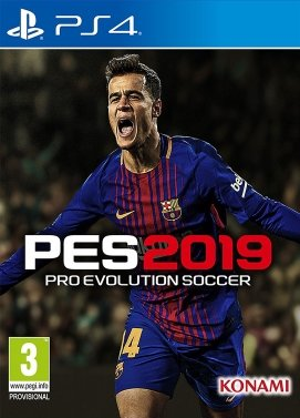 Playstation 4 PES 2019