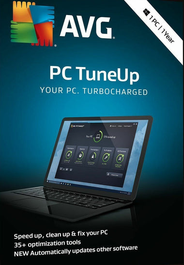 AVG PC TuneUp 2019 1 PC User 1 Year