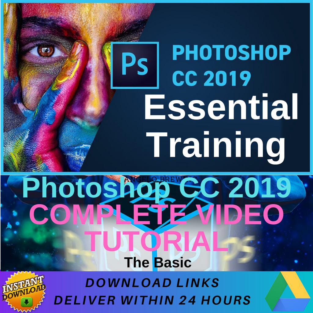 Photoshop CC 2019 - Video Training (Eng)