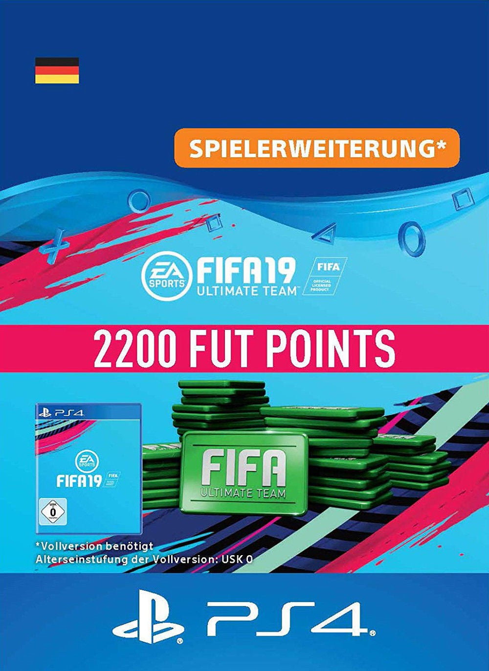 FIFA 19 Ultimate Team - 2200 FUT Points PS4 DE