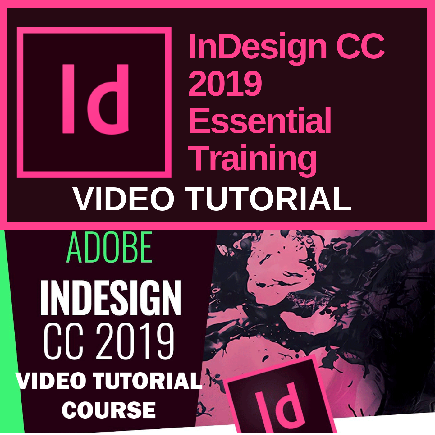 InDesign CC 2019 - Video Training (Eng)