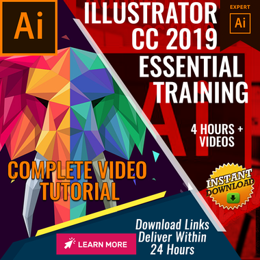 Illustrator CC 2019 - Video Training (Eng)