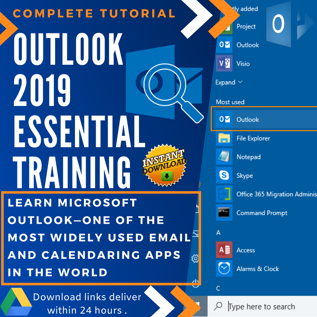 Outlook 2019 - Video Training (Eng)