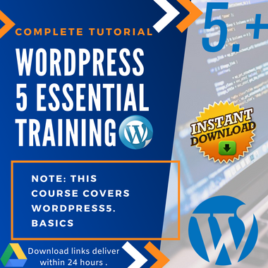 Wordpress 5 - Video Training (Eng)