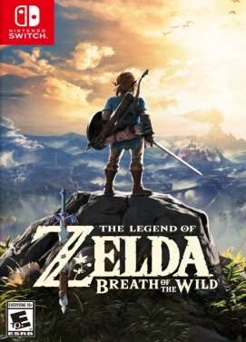 Nintendo Zelda Breath of the Wind