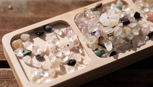 Small Crystals - pastel colours