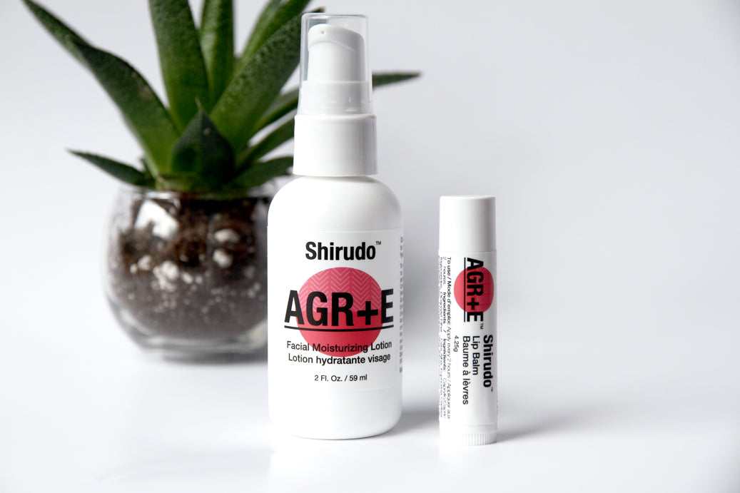 Introducing AGR+E products for face and lips