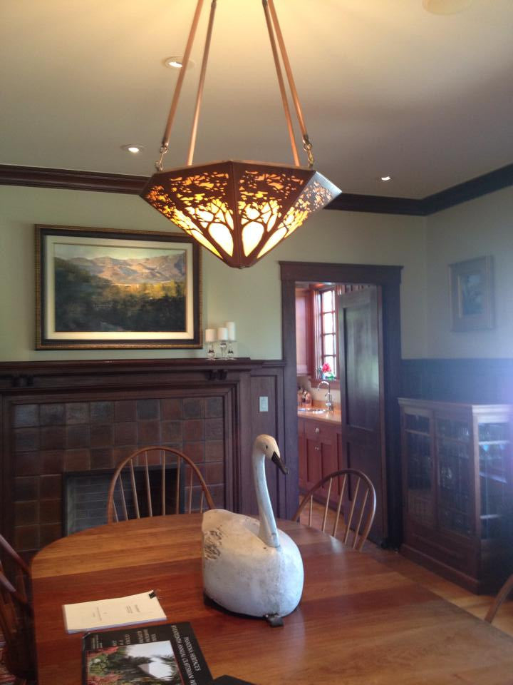 Tree Chandelier | James Mattson Coppercraft