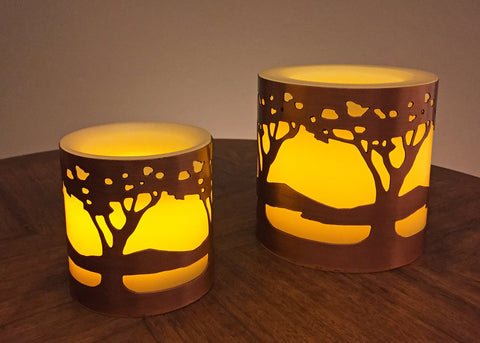 NEW! Flameless candles