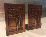 Bookends - Landscape Pattern