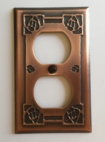 Bungalow Rose - Duplex Outlet Cover