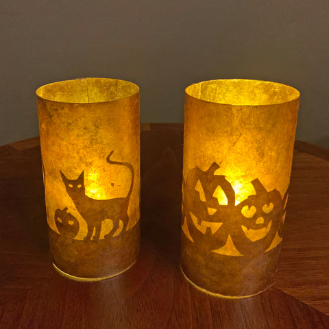 Halloween Mica Votives