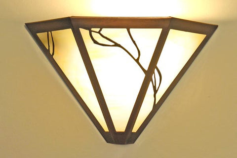 Triangular Art Nouveau Sconce