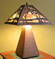 Landscape Table Lamp