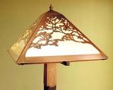 Floor Lamp - Tree Pattern