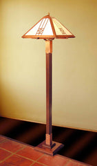 Floor Lamp - Bungalow Rose Pattern