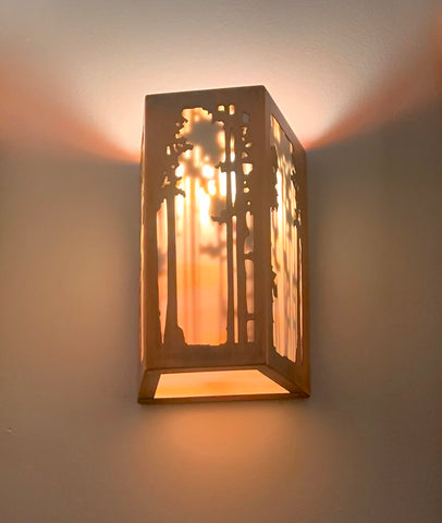 Rectangular Sconce - Shadow landscape
