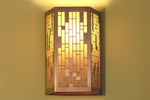 Rectangular Grid Sconce