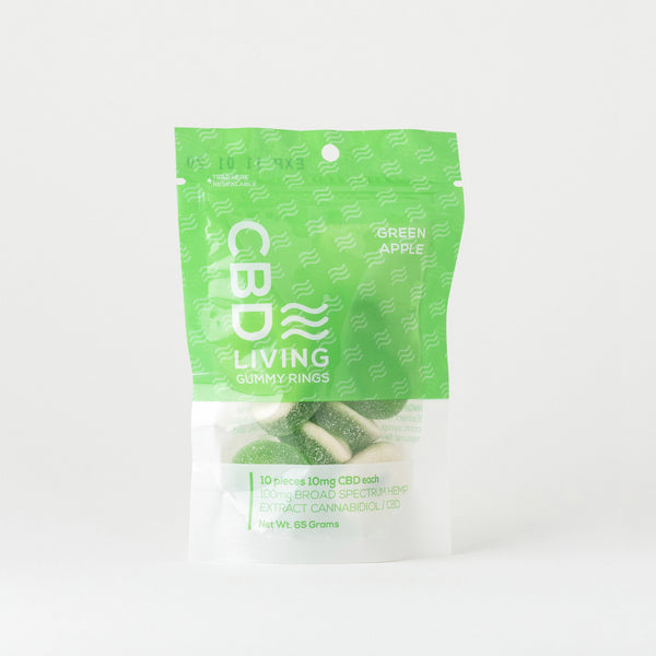 CBD Living Broad Spectrum Gummies (pouch) - Alleviate Wellness