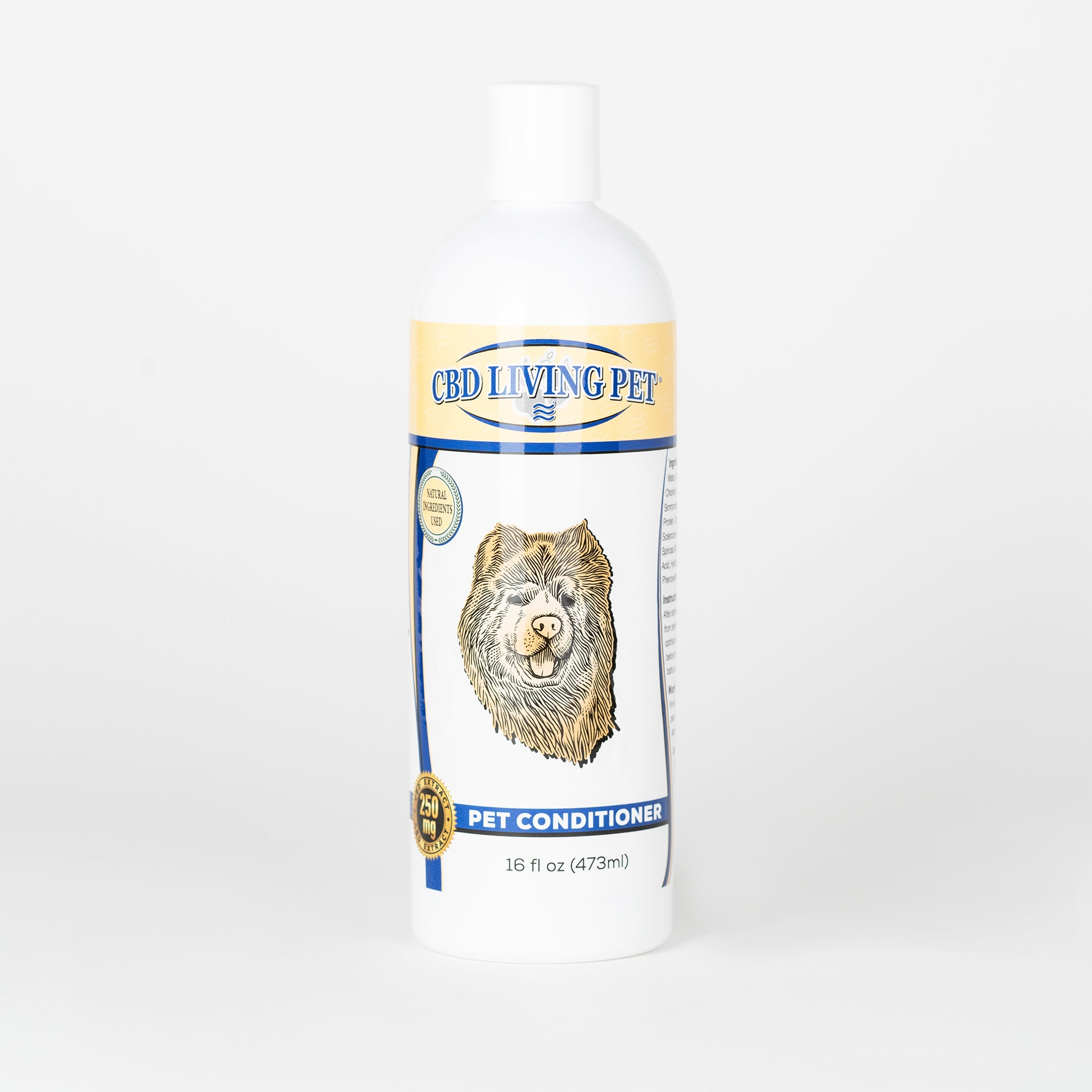 CBD Living Pet Conditioner - Alleviate Wellness
