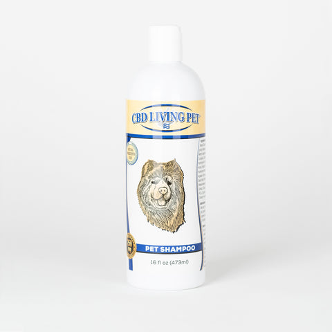 CBD Living Pet Shampoo - Alleviate Wellness
